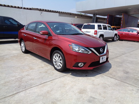 Nissan Sentra 1.8 Advance Mt 2018 Rojo Burdeos