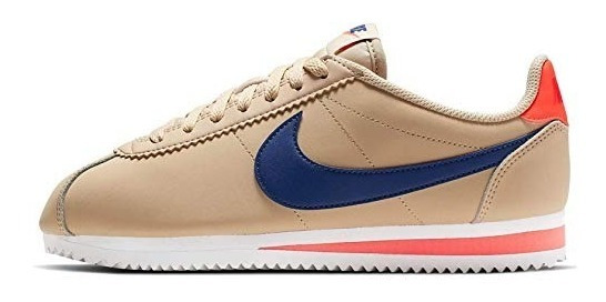 Tenis Nike Cortez Classic Leather Mujer Casual Stan Force