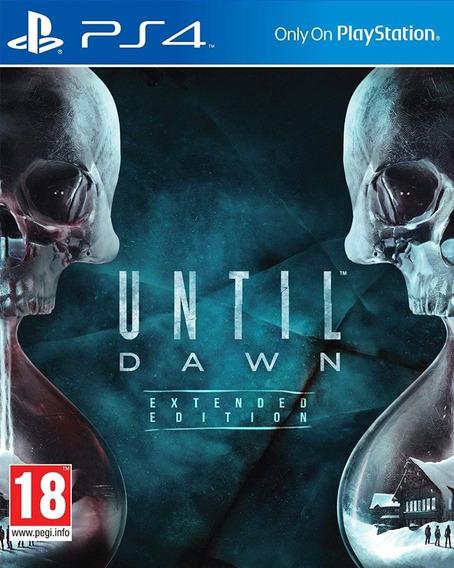 Until Dawn Extended Edition - Ps4 - Mídia Física