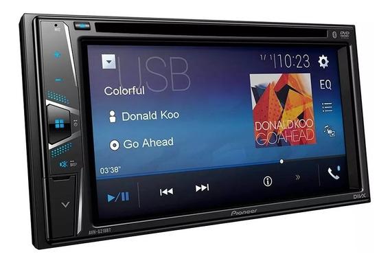 Pioneer Avh-g218bt, 2 Din Com Tela De 6,2 Wvga, Bluetooth