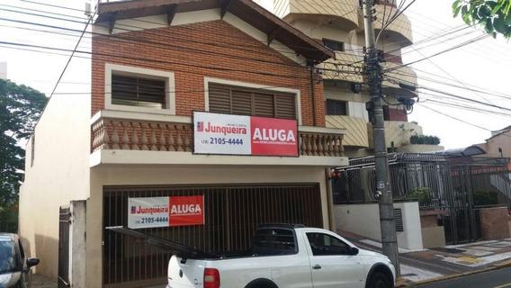 Casa Residencial Para Locação, Centro, Piracicaba. - Ca1252