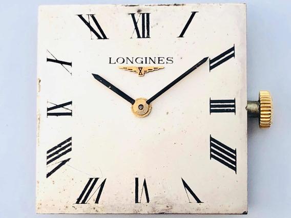 Máquina Suíça Relógio De Pulso Longines Swiss Corda Cal 19.4