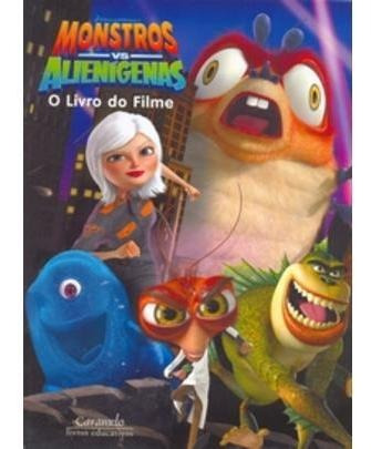 Monstros Vs Alienígenas - O Livro Do Filme