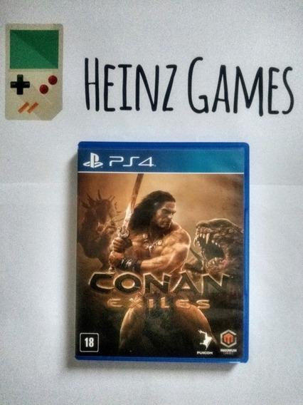 Conan Exiles Ps4 Mídia Física (jogo Raro)