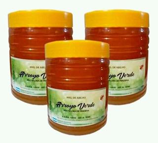 Miel Multiflora De Pradera Arroyo Verde 1kg X3 Unidades