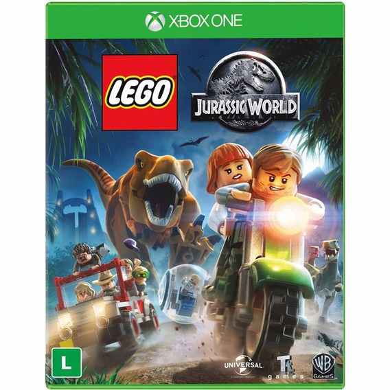 Jogo Lego Jurassic World Xbox One Original Lacrado