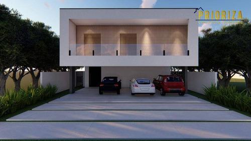 Imagem 1 de 17 de Casa À Venda, 396 M² Por R$ 2.950.000,00 - Alphaville Nova Esplanada - Votorantim/sp - Ca0473