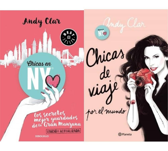 Pack Andy Clar - Chicas En Ny + Chicas De Viaje Por El Mundo