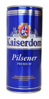 Caja X4 Cerveza Kaiserdom Lata Litro 1000 Ml