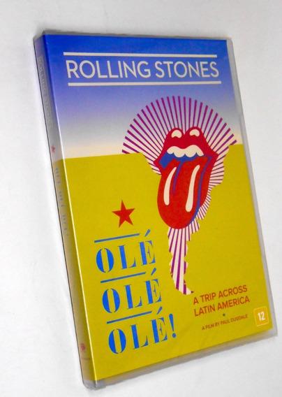 Dvd The Rolling Stones Olé Olé Olé Trip Across Latin America