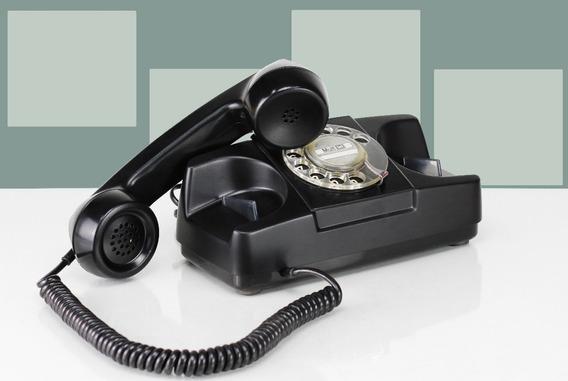 Telefone Barato Tijolinho Vintage Funcionando Disco