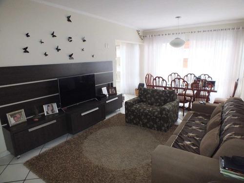 Apartamento Com 3 Dorms, Itararé, São Vicente - R$ 450 Mil, Cod: 1506 - V1506