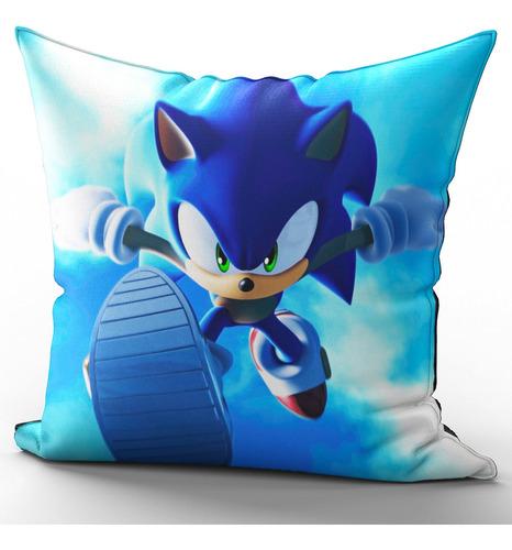 Imagem 1 de 2 de Almofada Sonic Corrida Em Microfibra Premium