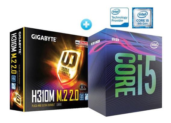 Processador I5 Lga 1151 Intel 2.90ghz + Placa Mãe H310m 2.0