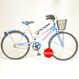Bicicleta Futura Rod 26 Full Dama Mandy Hogar