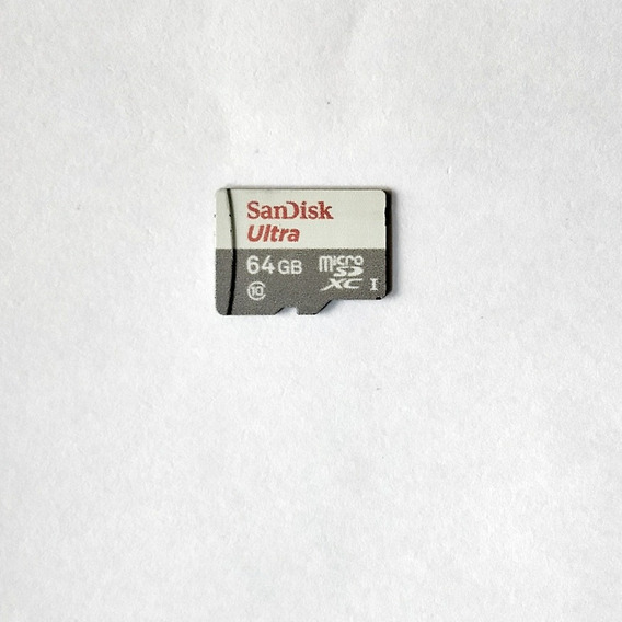Cartão Micro Sd Xc Uhs-1 64gb Sandisk Ultra