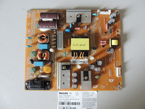 Placa Da Fonte Tv Philips 43pfg5100/78 .