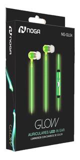 Auriculares Glow Noga Luz Led Ng-gl04 C/ Mic Manos Libres