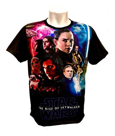 Camiseta Star Wars - A Ascensão Skywalker (estampa 3)