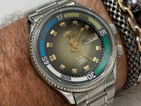 Orient Sk 469620a-7g 3 Star Automatic 21 Jewels Wr