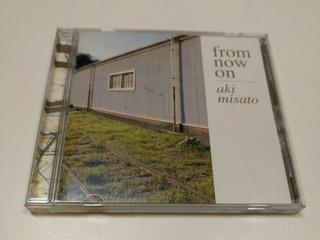 Aki Misato From Now On Cd De Música Original Japones