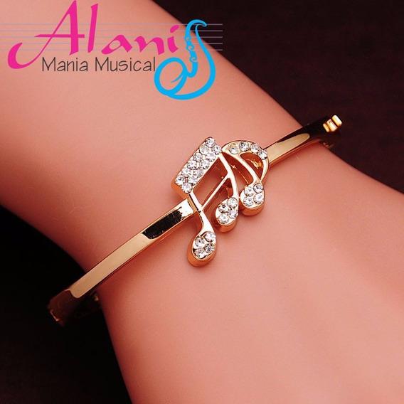 Bracelete Pulseira Música Colcheia - Alanis Mania Musical