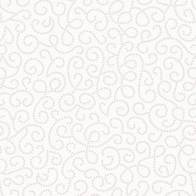 Papel De Parede Coleção Renascer Arabesco De Flor Bege 6255
