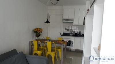 Apartamento Cambuci 36m² Semi Mobiliado Persiana, Perto Largo Cambuci, Transporte Público Em Frente. - Bi24399