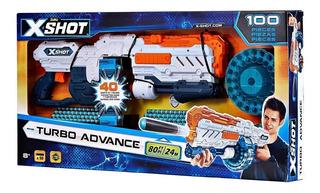 Pistola Xshot Turbo Advance Lanza Dardo Babymovil 36136