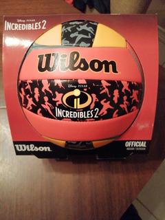 Balón De Volleyball Wilson Disney Pixar Increíbles 2