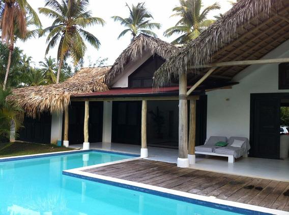 Villa Amueblada En Alquiler En Playa Cosón - Las Terrenas,