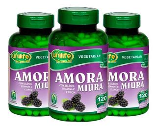 Amora Miura - 3x 120 Cápsulas - Unilife