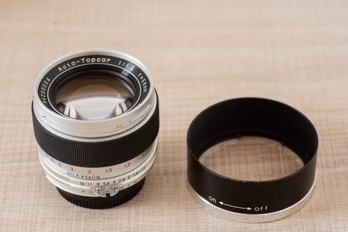 58mm 1.4 Topcor (feita Pela Cosina No Japão) Para Nikon