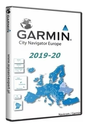 Atualização Garmin City Europa 2019.20
