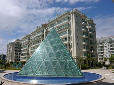 Barra Da Tijuca, Le Parc, Alto Padrao Em Localizaçao Mais Que Privilegiada - Ap01996