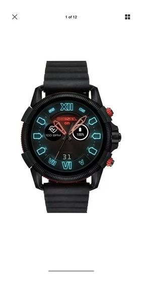 Relógio Diesel Full Guard 2.5 Black Silicone