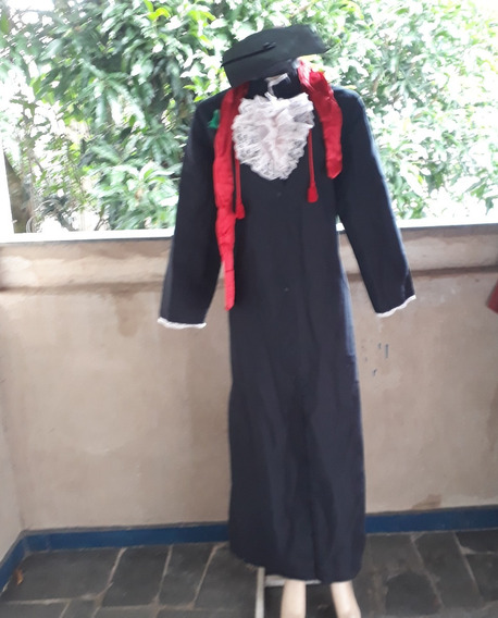 Toga Beca Juíz Promotor Advogado Formatura Tradicional C2809