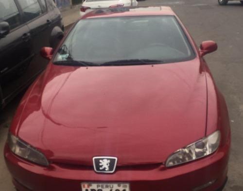Peugeot 406, Color Rojo, Motor 2000 Cc, 3 Puertas, Coupe