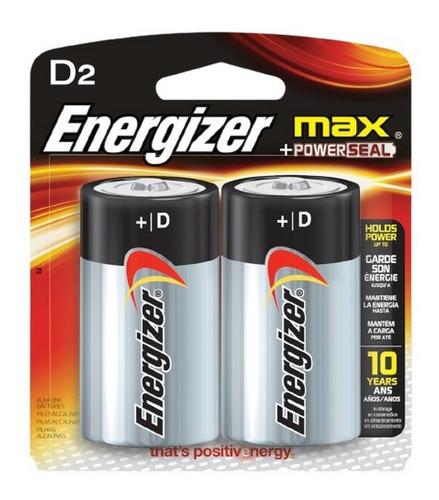 Imagen 1 de 5 de Pilas Energizer D Pack X 2 Ar1 E95 Ellobo