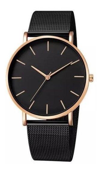 Relógio Dourado Masculino Original Alta Qualidade Promoção