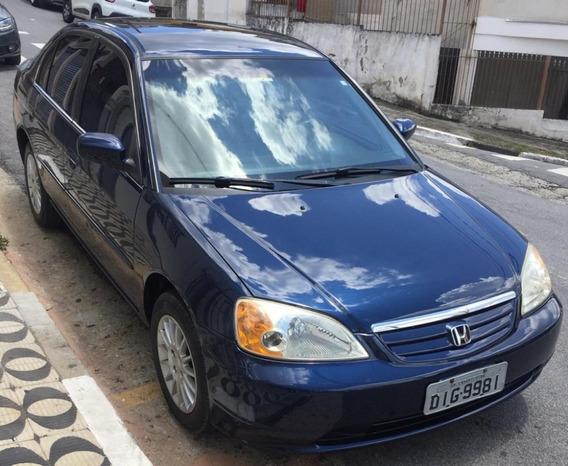 Honda Civi 2003 Ex 1.7 Vtec Economico