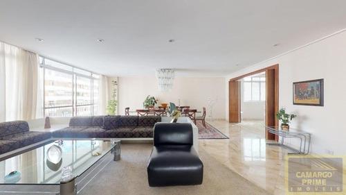 Imagem 1 de 13 de Apartamento Com 300 Metros,  Pronto Para Morar Em Higienópolis - Eb87198