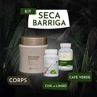 Kit Emagrecedor Barriga Seca Hinode.
