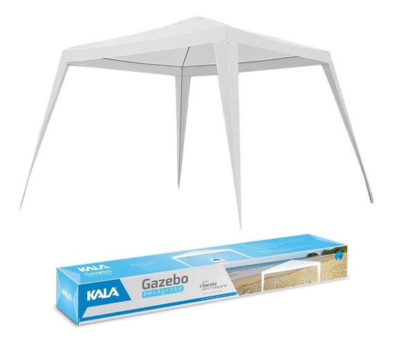 Tenda Gazebo Kala Branco 3x3 Camping - Praia - Resistente