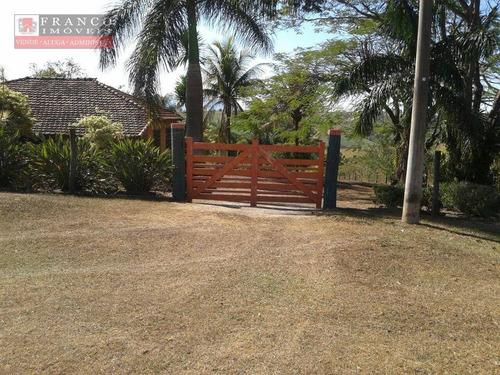 Imagem 1 de 30 de Chácara Com 3 Dormitórios À Venda, 1040 M² Por R$ 560.000 - Estância Prainha - São Pedro/sp - Ch0038