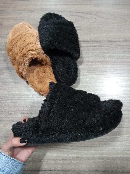 Pantuflas De Peluche Teddy Para Dama Del 35 Al 40