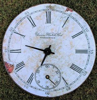Decoración Hogar Reloj Autor Jardín