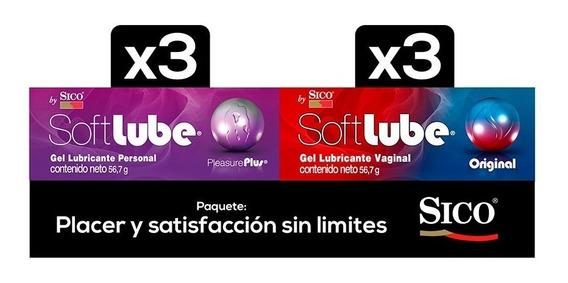 Kit Lubricantes 2pzas Original Y Pleasure Plus Soft Lube