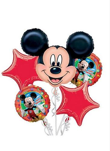 Globo Metalizado   Mickey X5  Fiestas