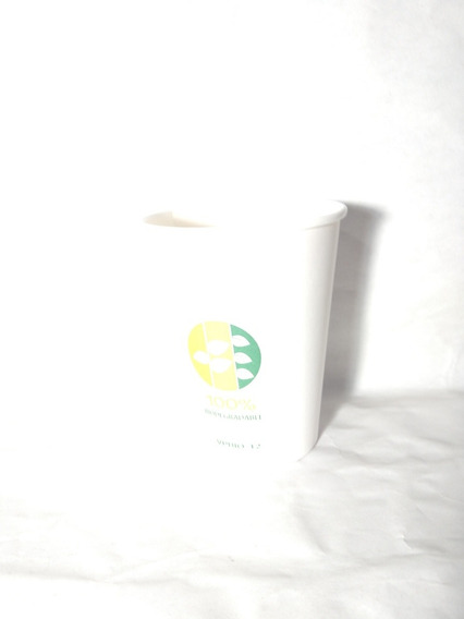 Vaso Biodegradable 8 Oz 1 Bolsa Con 50 Pzas